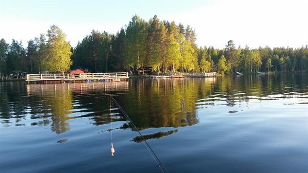 Holsträsket för fiske