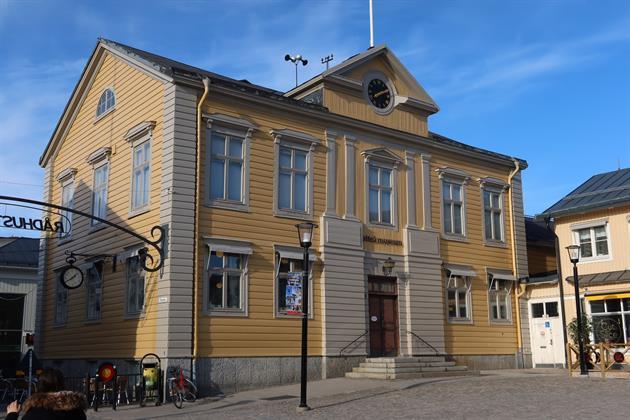Piteå museum, Rådhustorget