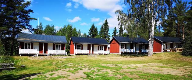 Jävregårdens stugor, Piteå Turistcenter