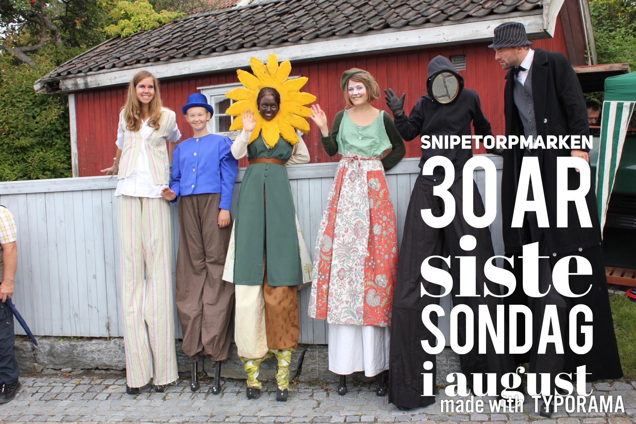 Snipetorpmarken siste søndag i august, © Snipetorp.no