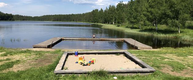 Gåssjön i Hemmingsmark, Terese Lindbäck