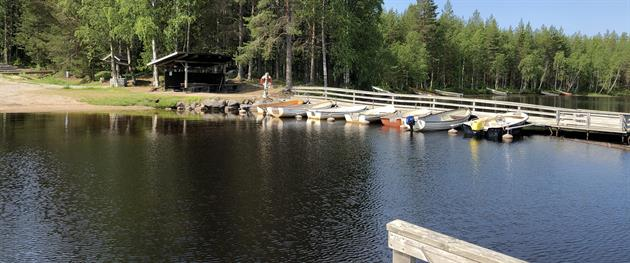 Holsträsket Pier, Terese Lindbäck