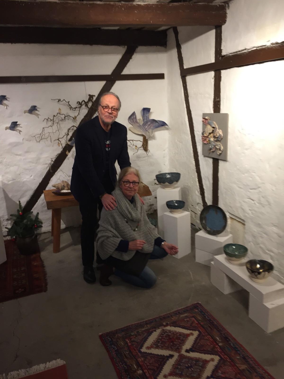 Galleri Ladan Foto och Keramik. Christina Salwen och Olof Wettermark