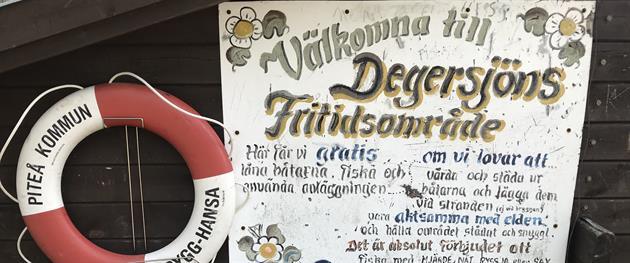 Degersjöns Fritidsområde, Piteå Turistcenter