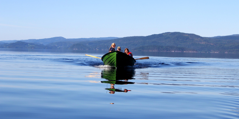 Fiske og båttur i Snåsavatnet. Copyright: Visit Innherred