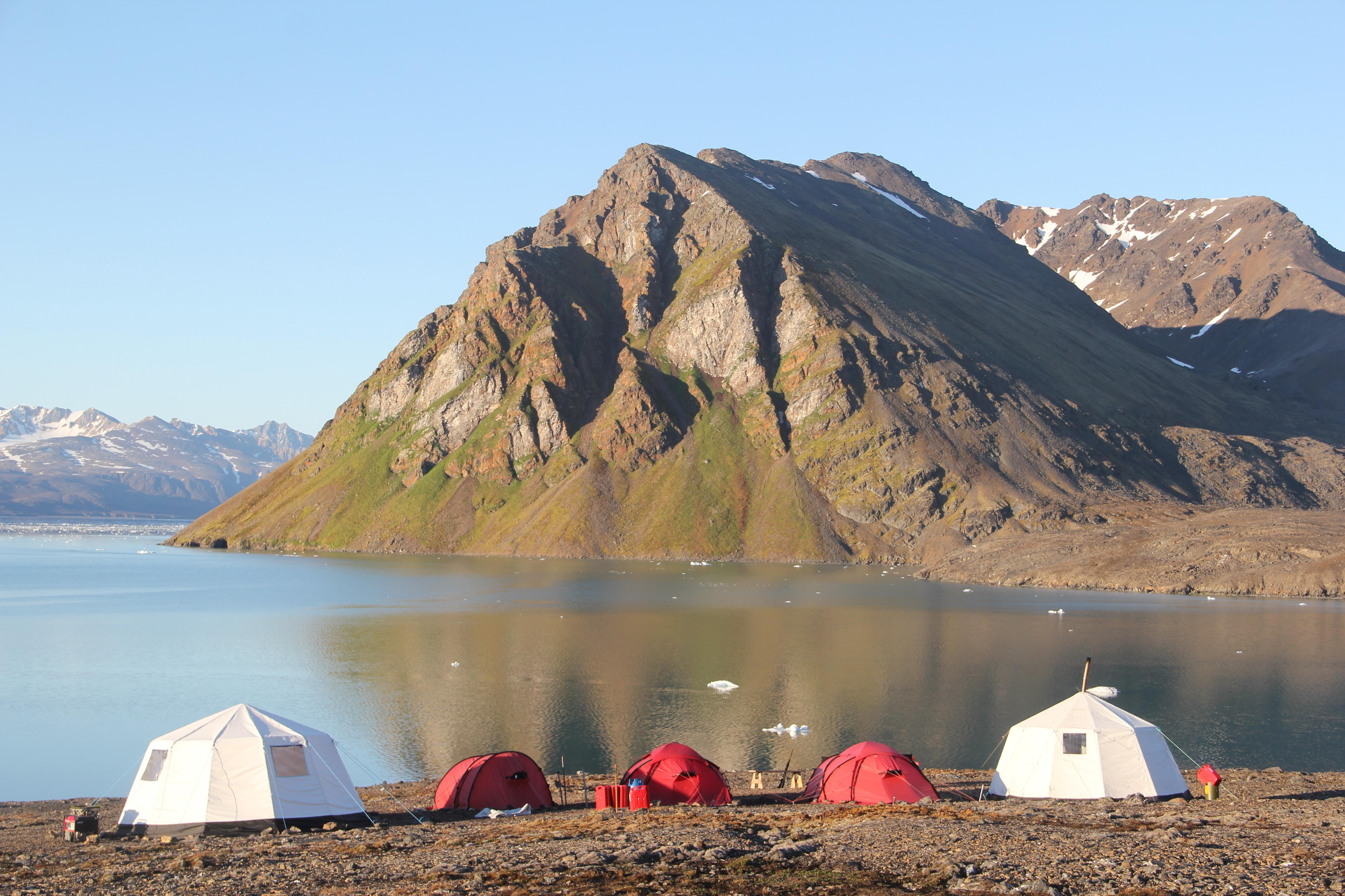 Arctic Nature Camp Campsite
