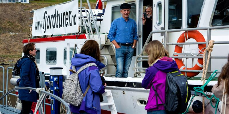 Fjordturer often feature open tours where you can join in on an individual basis. Copyright: Maja Sofie Angell Moen