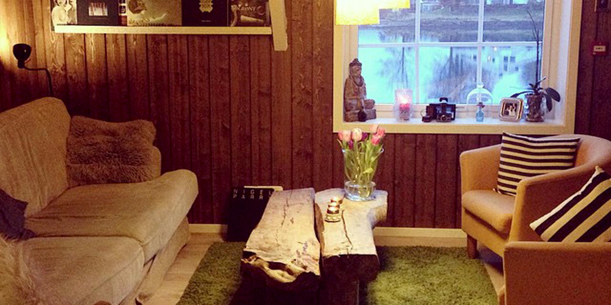 Part of the living room at Saga. Copyright: Saga