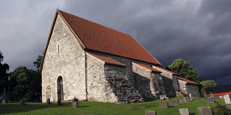 Sakshaug gamle kirke - Middelalderkirke på Inderøy