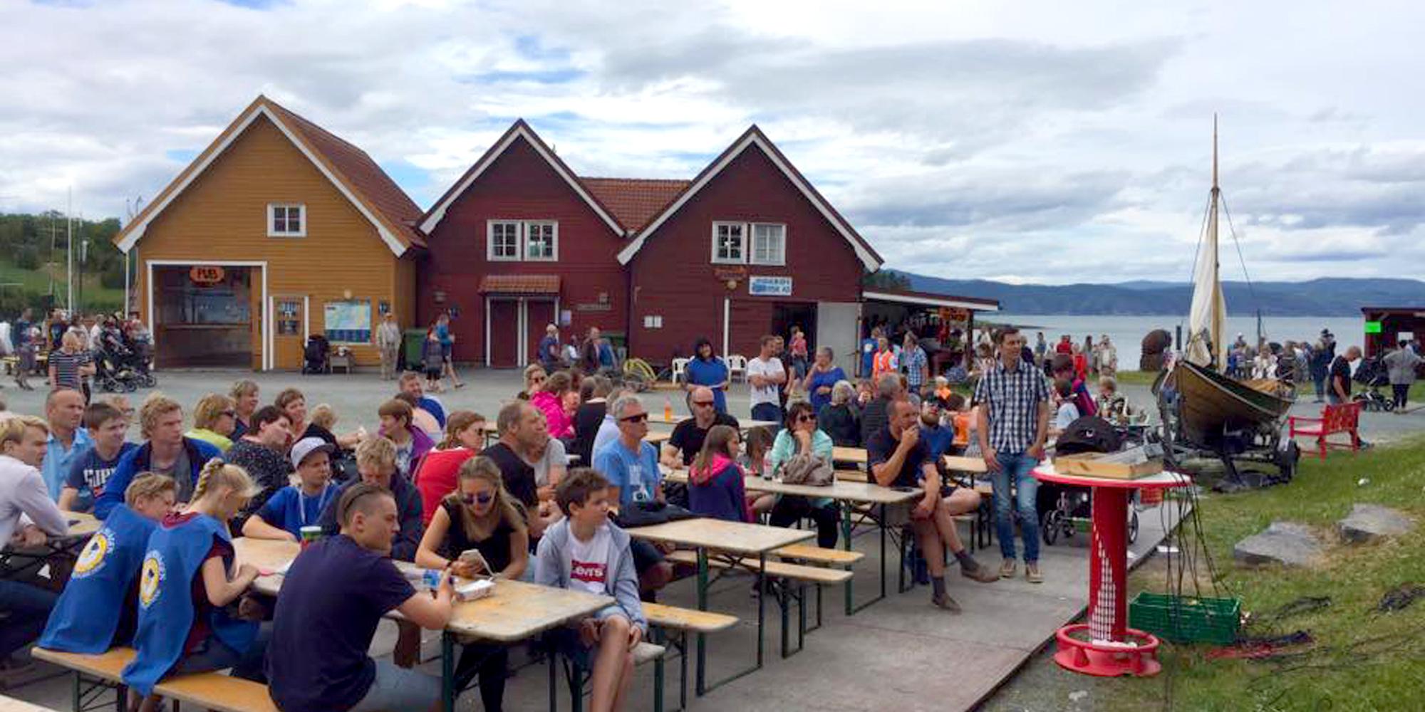 Kjerknesvågen kai i Inderøy. Copyright: Kjrknesvågen Kai og Båtforening