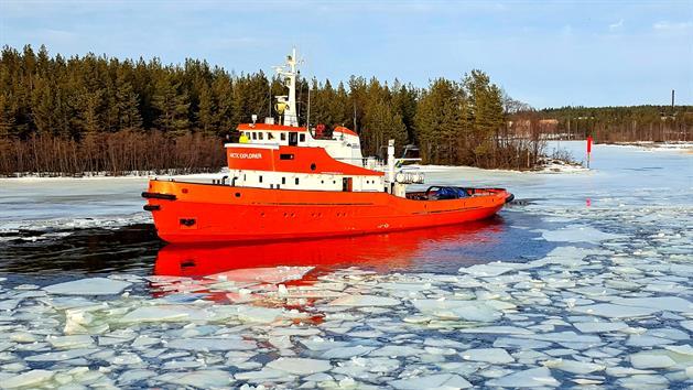 Isbrytaren Arctic Explorer, Pressbild