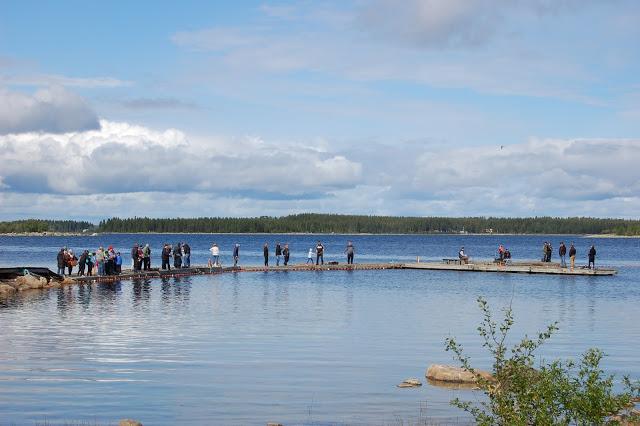 Fiske från bryggan Jävrebodarna