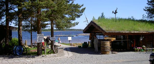 Jävrebodarnas fiskecamp entré, Jävrebodarnas fiskecamp
