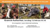Jaktfilm-show med Høgfoss og Fallan