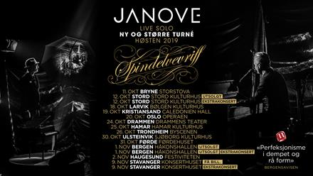 """JANOVE """"Spindelvevriff turné"""""""