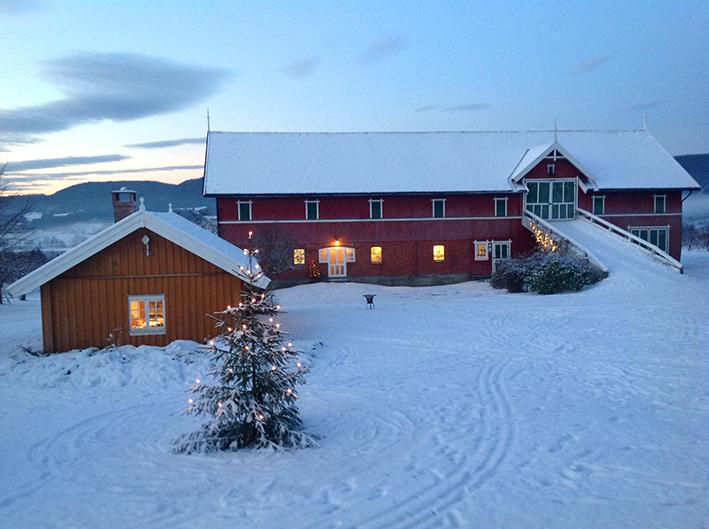 Jul på Nyhuus Gard, © Halvor Holtskog