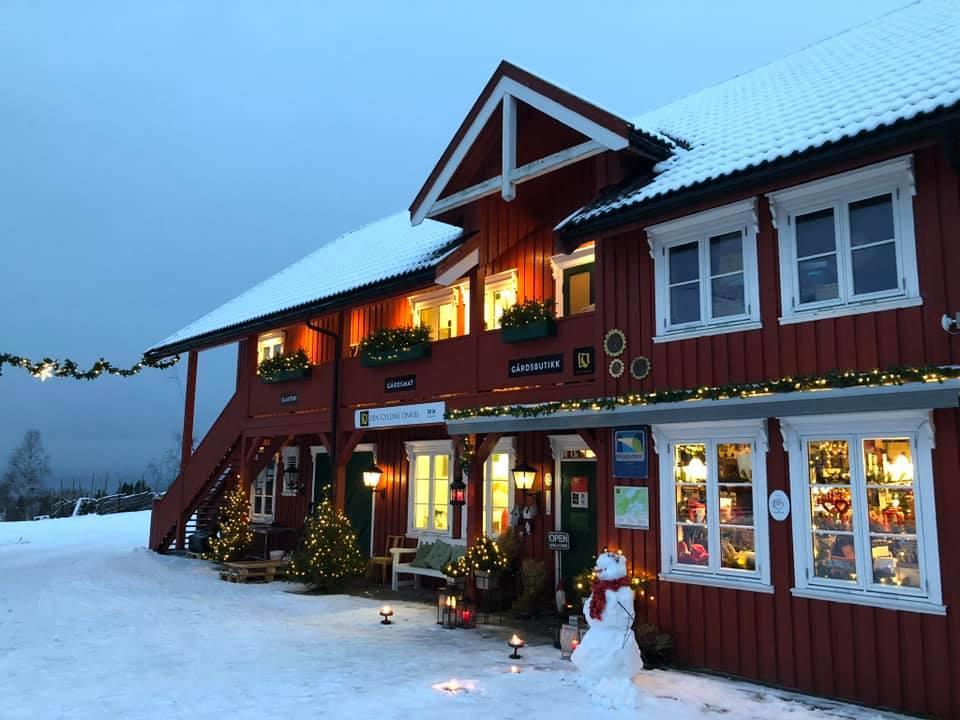 Christmas market at Berg Farm