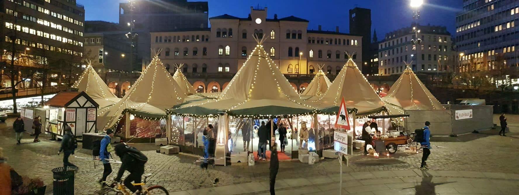 Julemarked på Youngstorget