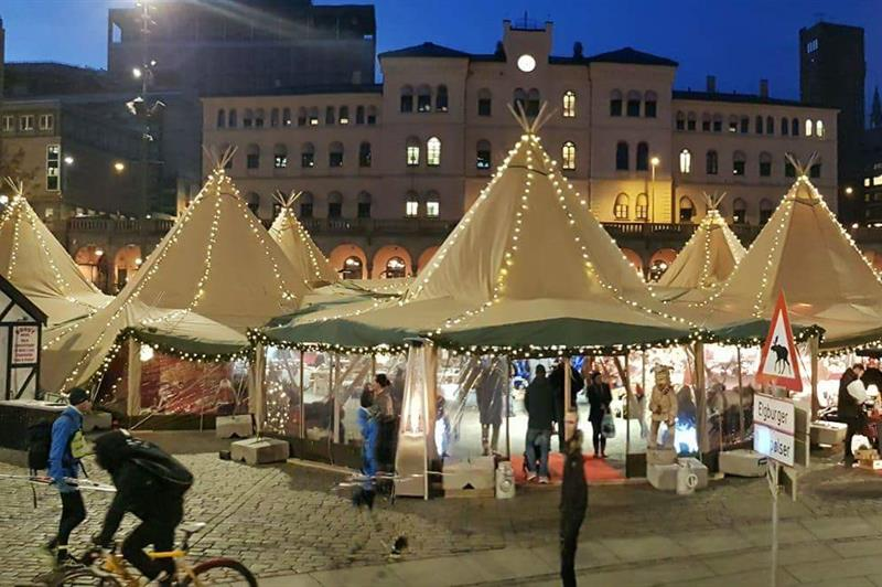 Julemarked på Youngstorget
