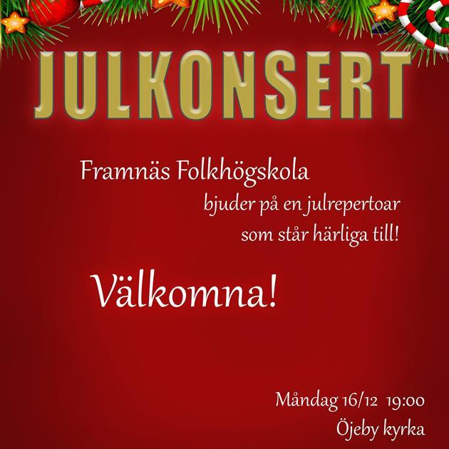 Julkonsert - Framnäs Folkhögskola