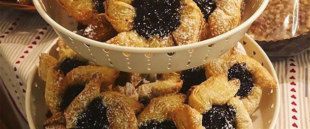 Julstjärnor bakade hos Jeanettes kök, Jeanettes kök