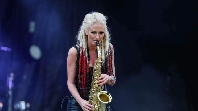 July Sax och Camilla