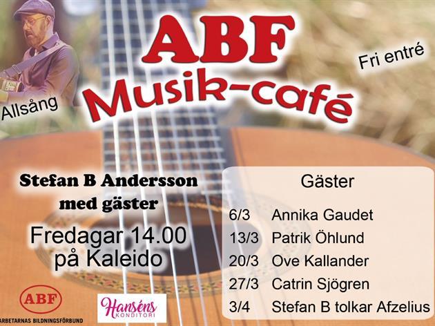 ABF`s Musikcafé - 13/3