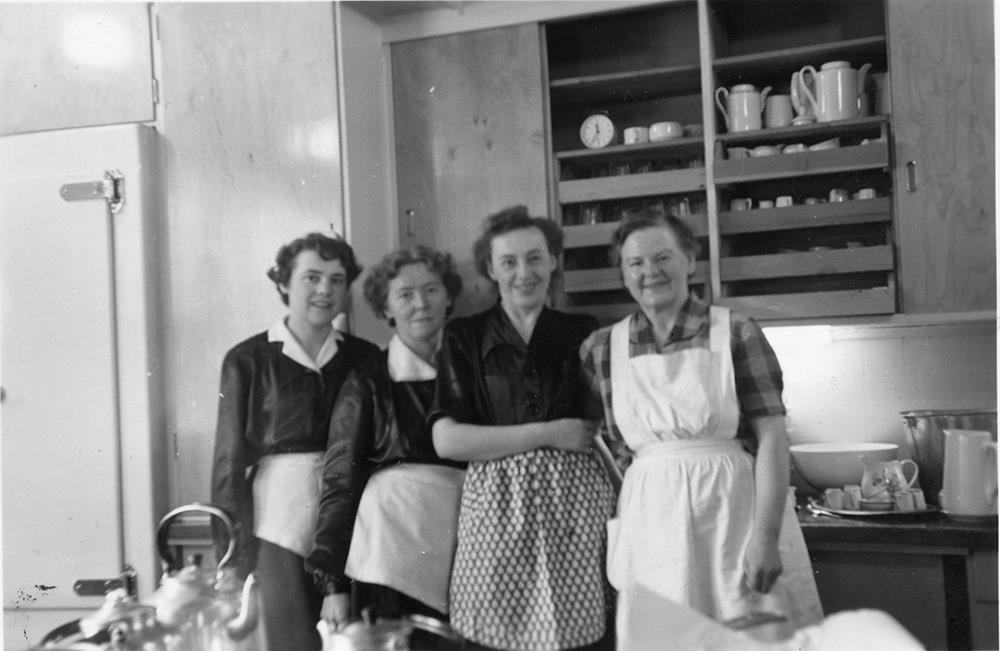 Kaffestuggu i gamle dager. Copyright: Kaffestuggu - fra arkivet