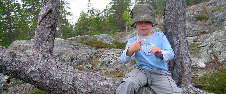 Kalahatten - ett härligt äventyr för barnen Foto: Ann-Sofie Boman
