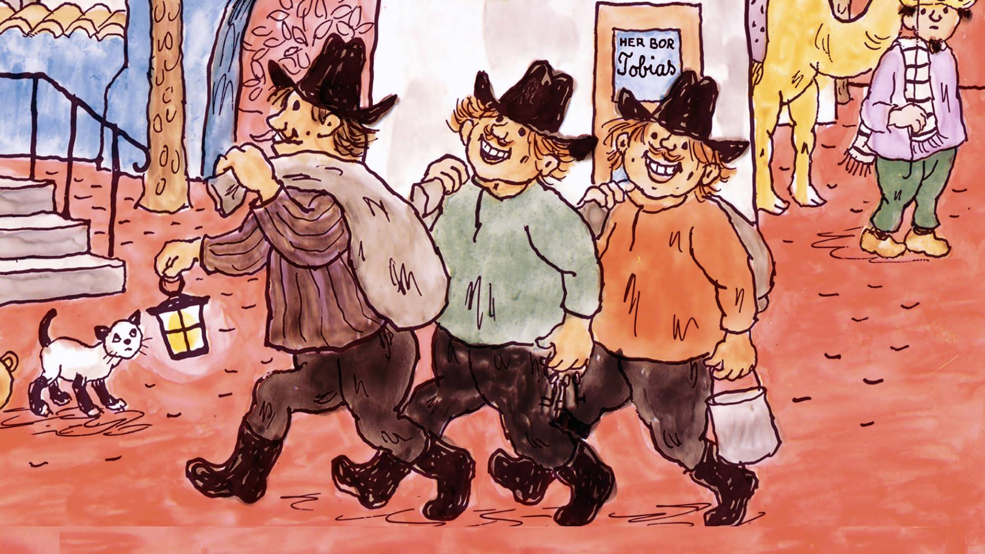 Folk og røvere i Kardemomme by - Riksteatret