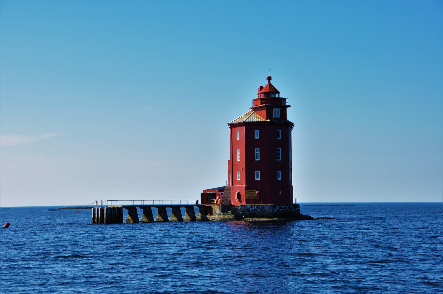 Kjeungskjær Lighthouse. Copyright: Crazy Coyote