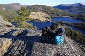Gåtur på Kleivfjell 450 moh