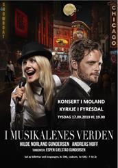 """Andreas og Hilde - """"I musikalenes verden"""""""