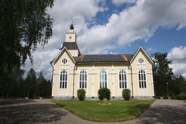 Långträsk kyrka, Foto Sara Andersson