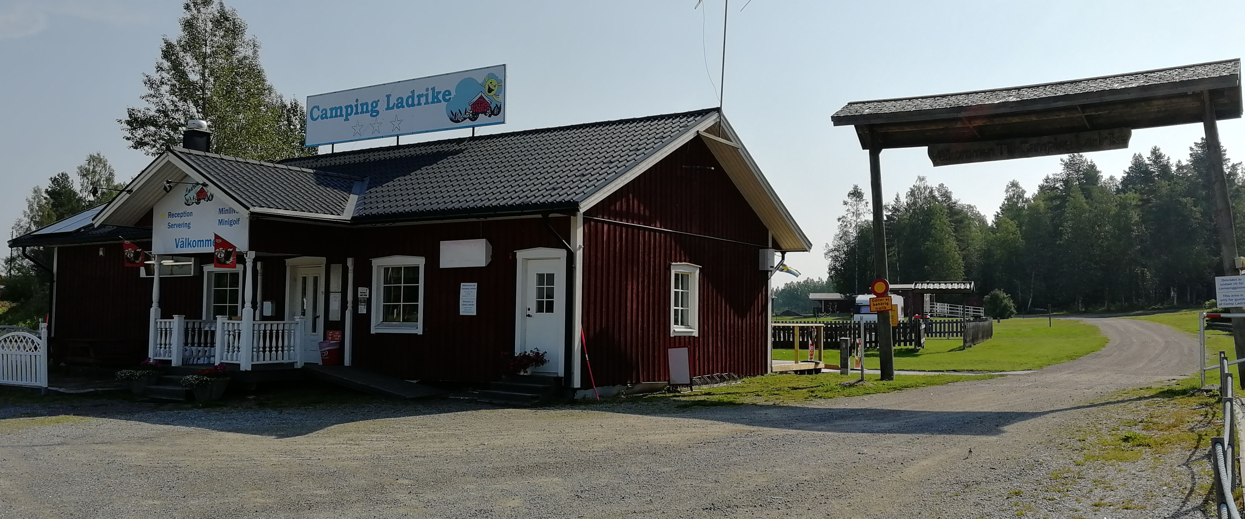 Camp Ladrike infart