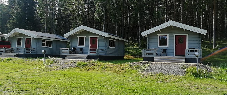 Stugor på Camp Ladrike