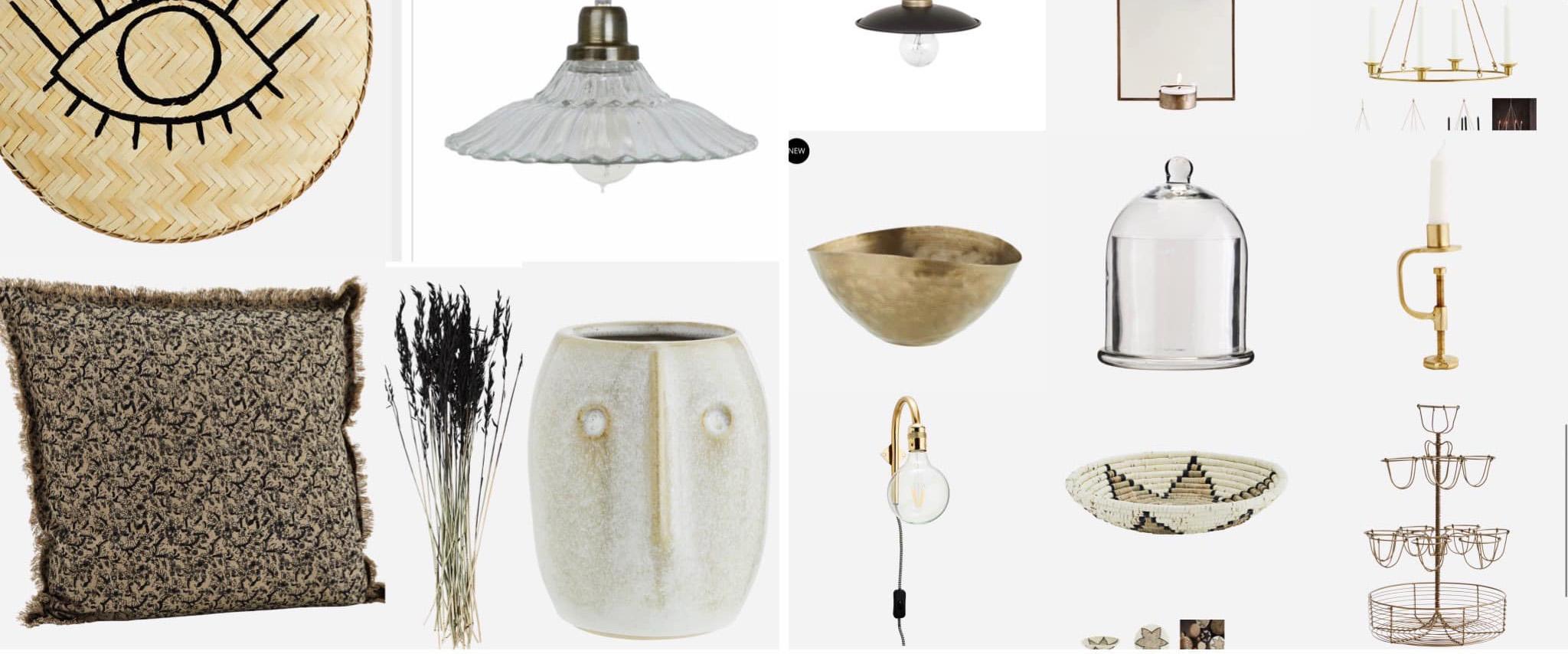 Design och inrednings produkter