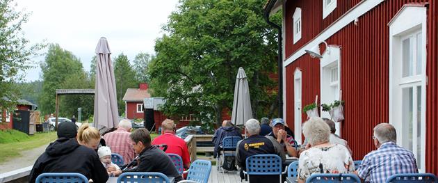 Uteservering Legdgården, Stina Eriksson