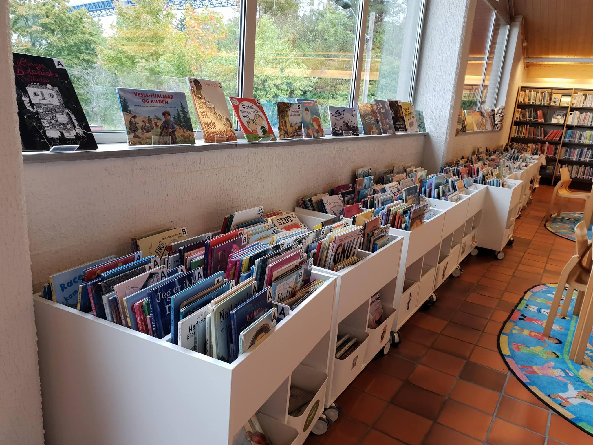 Lesestund, © Bamble bibliotek og litteratrurhus