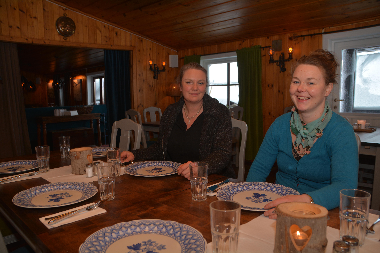 Frokost på Lifjellstua, © Øystein Akselberg