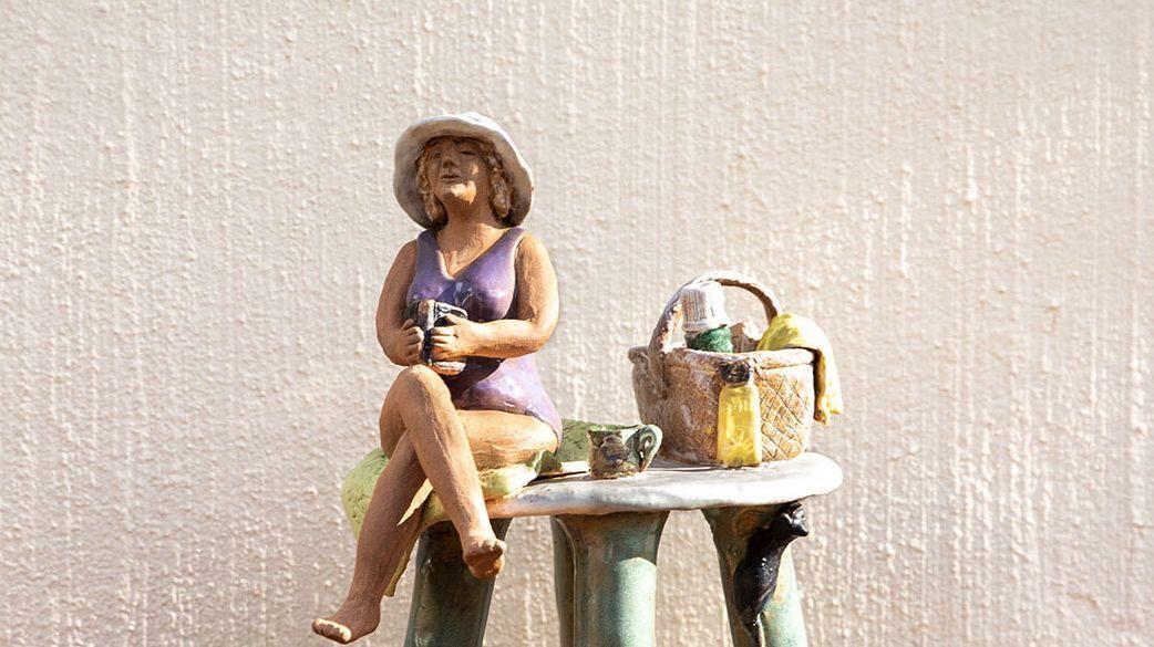 Ingrid Karlsson - Keramikskulpturer