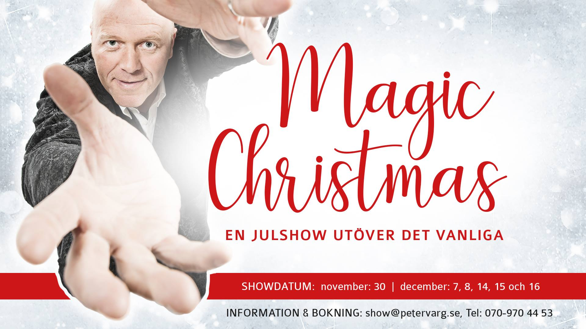 Magic Christmas 2017 banner