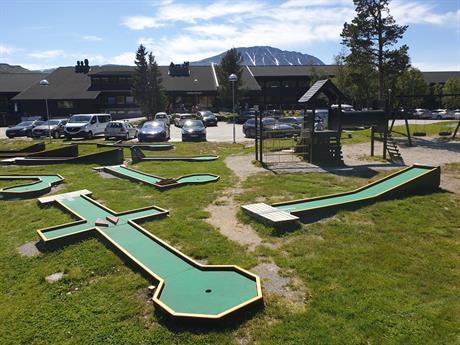 Minigolf at Gausta, © Gro Rånmann