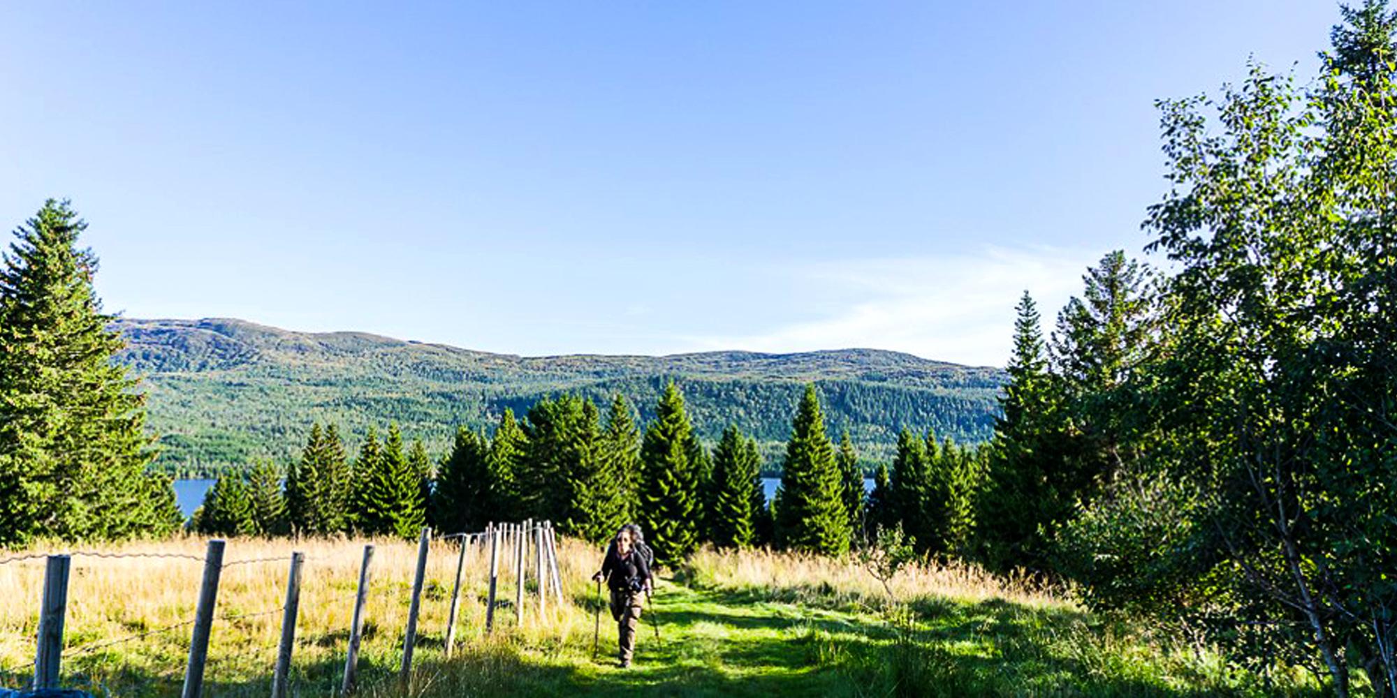 En dags vandring fra Troset til Munkeby i Levanger