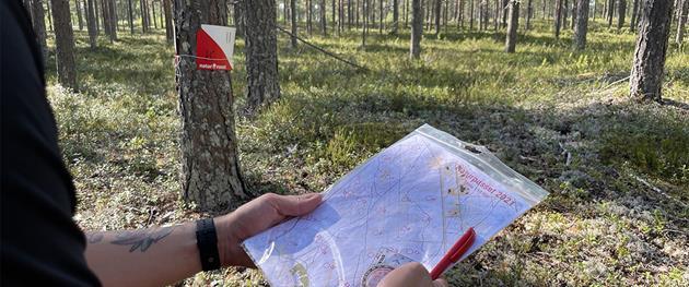 Naturpasset i händerna ute i skogen, Sara Holm