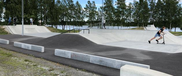 Norrstrand activity park, Sara Holm
