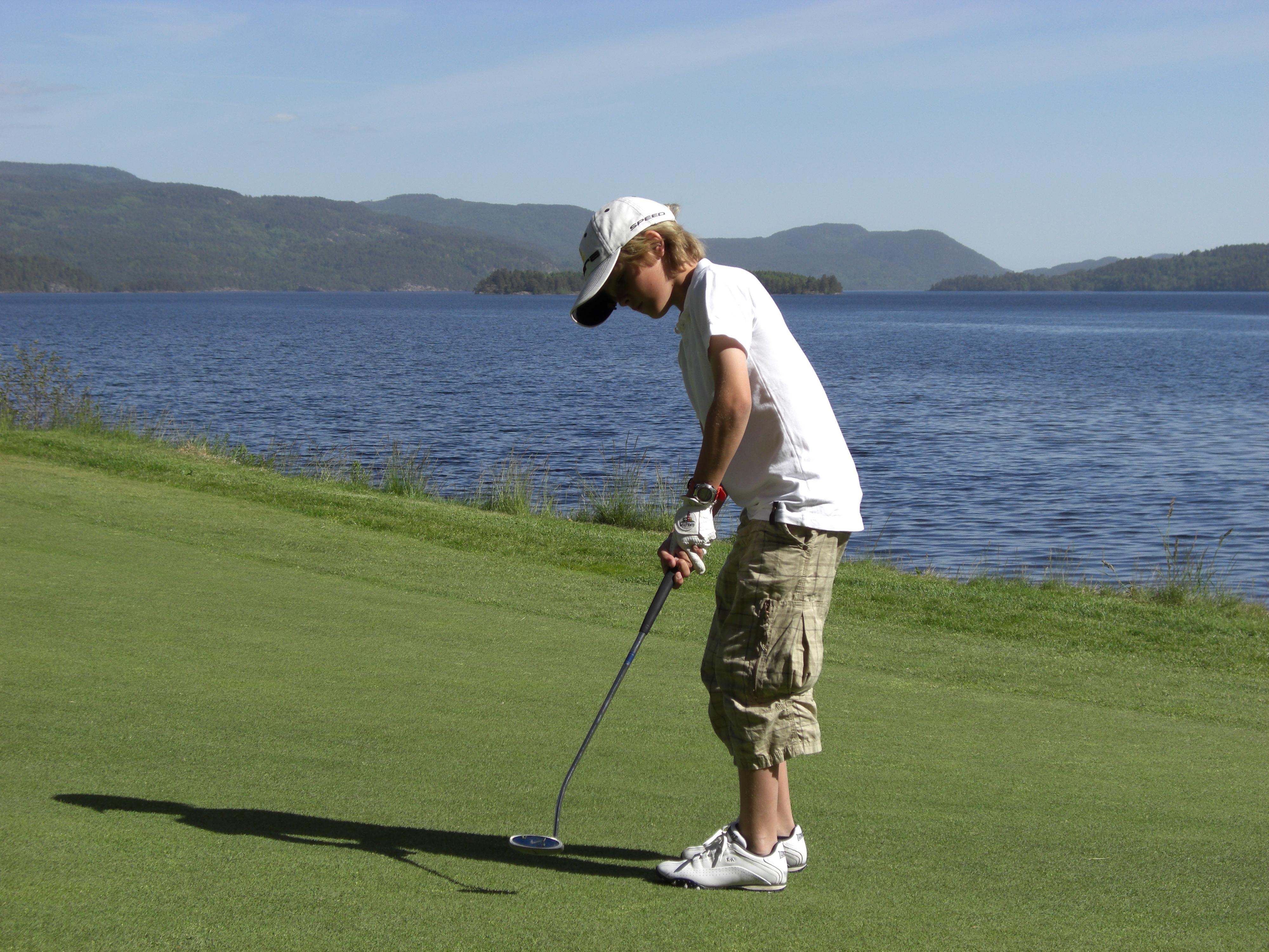 Norsjø Golfpark - Turist i egen bygd