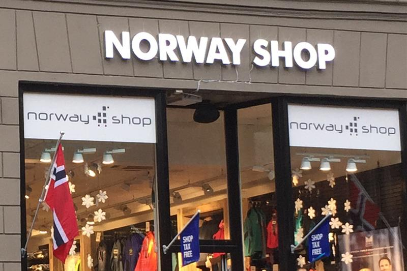 216a3d37 Norway Shop Karl Johans gate / Norway House