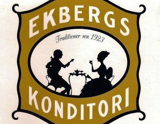 logo, Nya Ekbergs konditori