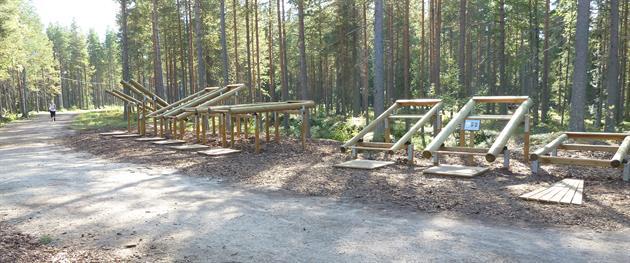 Grisberget Jogging track